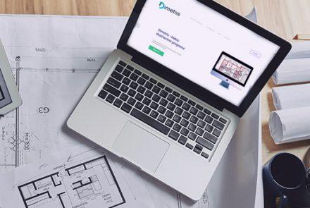 Technologinis sprendimas statybų rinkoje – programa Dimetris